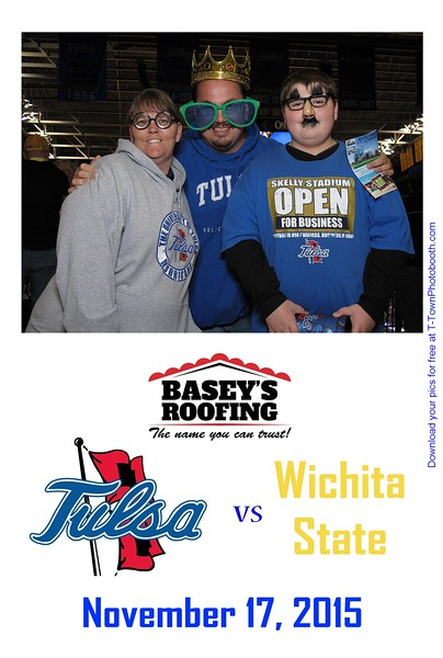 TU vs. Wichita State - November 17, 2015